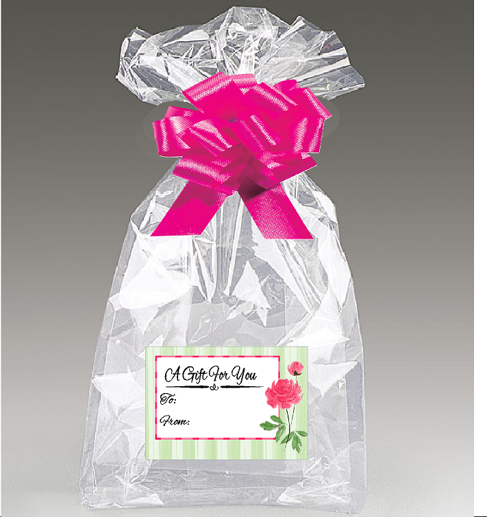 Clear Basket Bags Package Bags Cellophane Wrap for Baskets and Gifts 47 by 32