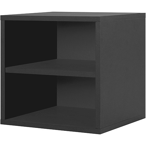 Modular Shelf Cube, Black by