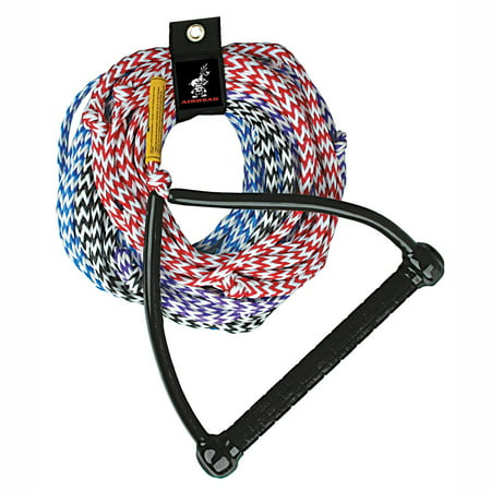 AIRHEAD 75 foot Water Ski Rope, 4-section ()
