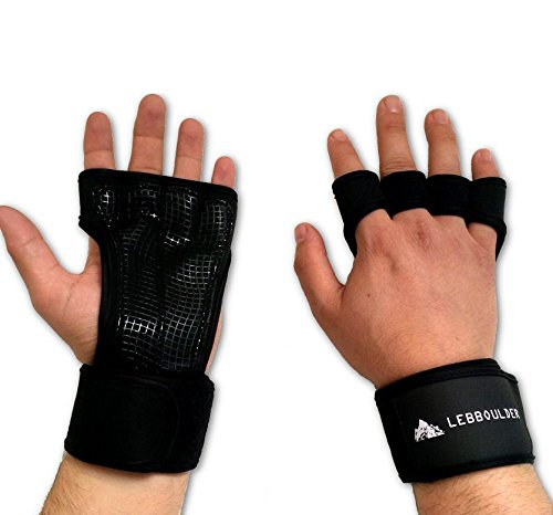 Fitness Gloves for Weight Lifting with Wrist Wrap Strap