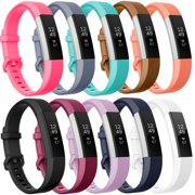 Moretek for Fitbit Alta HR and Alta Strap Bands Pack of 10 Small