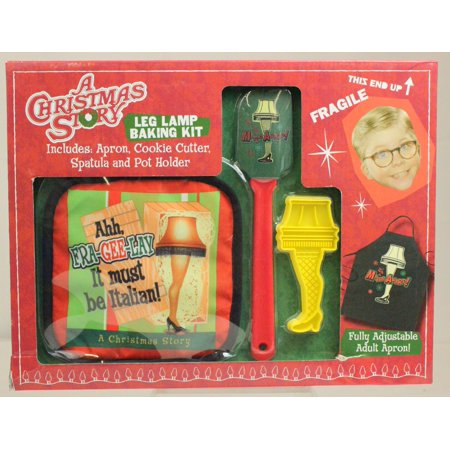A Christmas Story Leg Lamp Baking Kit - 45 Christmas Story Leg Lamp