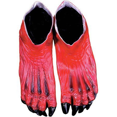 Devil Feet Adult Halloween Accessory for $<!---->