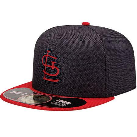 d6615110f9f56 St. Louis Cardinals New Era On Field Diamond Era 59FIFTY Fitted Hat -  Navy Red - Walmart.com
