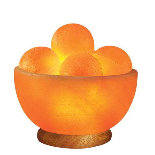 WBM LLC Sun Globe Light 7'' Salt Lamp