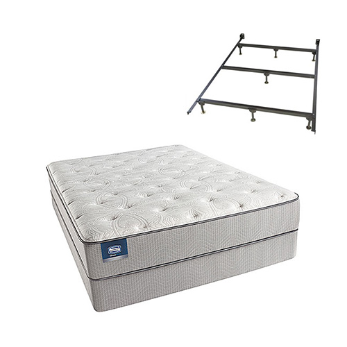 Chickering Queen Size Luxury Firm Mattress and Low Profile