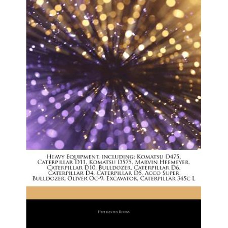 Articles on Heavy Equipment, Including: Komatsu D475, Caterpillar D11, Komatsu D575, Marvin Heemeyer, Caterpillar D10, Bulldozer, Caterpillar D6, Cate