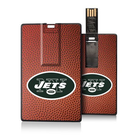 New York Jets Football Design Credit Card USB Drive - No Size