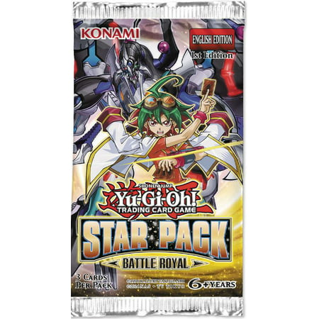 YuGiOh Star Pack Battle Royal Booster