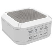 Big Red Rooster Portable White Noise Sound Machine | Sound Machine For Sleeping & Relaxation | 8 Sounds | Operates On 3 AA Batteries | Sleep Sound Therapy for Home, Office or Travel