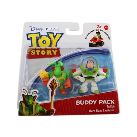 Toy Story Action Links Buddy Packs - Twitch & Hero Buzz Lightyear