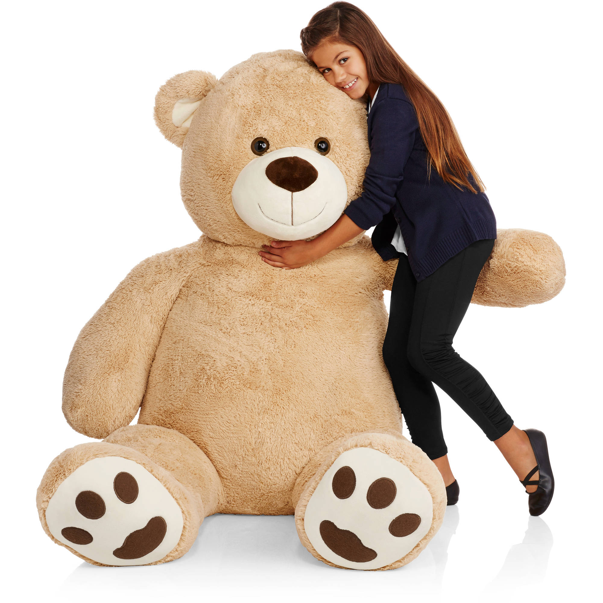 super jumbo 6ft plush teddy bear walmartcom