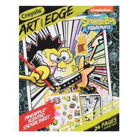 Art With Edge Spongebob Squarepants Adult Coloring Book ...
