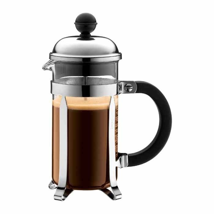 Bodum Chambord Chrome/Gold-Plated French Press Coffee Maker