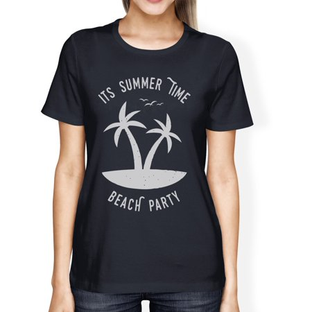 Its Party Time (Its Summer Time Beach Party Womens Navy Funny Graphic Summer)