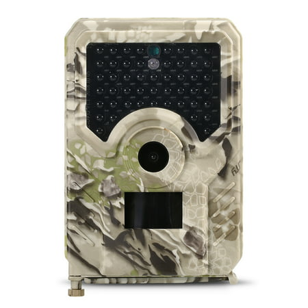 12MP 1080P Trail Camera Hunting Game Camera Outdoor Wildlife Scouting Camera with PIR Sensor 65ft Infrared Night Vision IP56