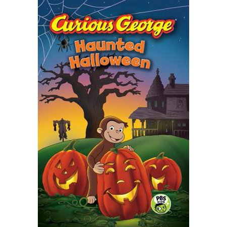 Curious George Haunted Halloween (CGTV Reader) (Haunted Poems Halloween)