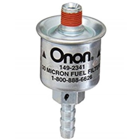 Onan 149-2341-01 Fuel Filter for Marquis BGM G-H and NHM G-H Gasoline