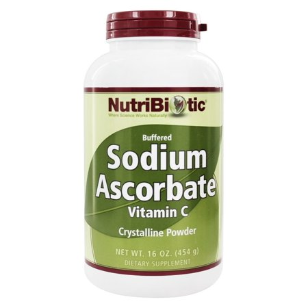 Nutribiotic - Sodium Ascorbate Buffered Crystalline Powder - 16 oz. (Sodium Polyacrylate Powder)