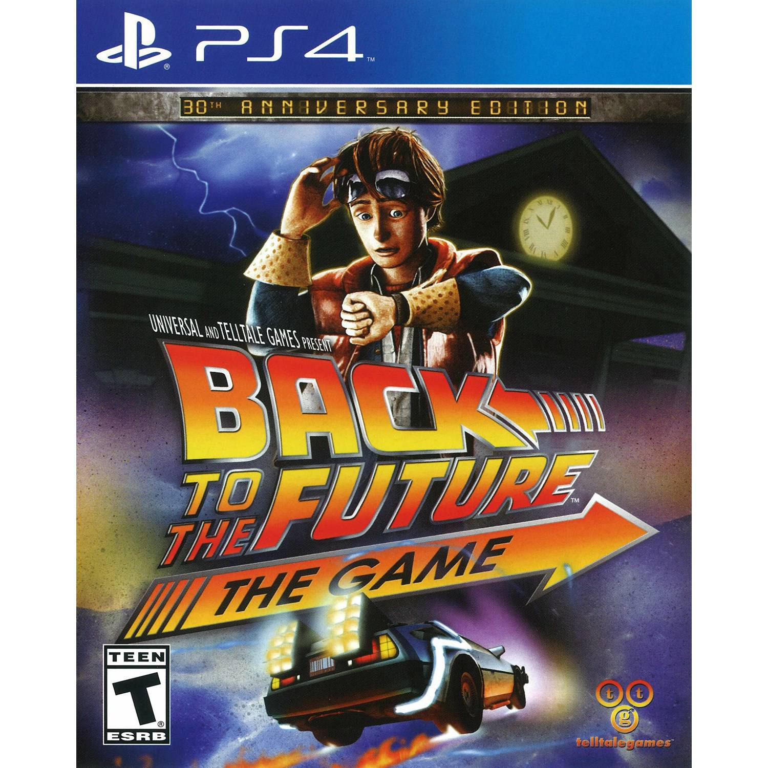 Back To The Future 30th Anniversary (PS4)