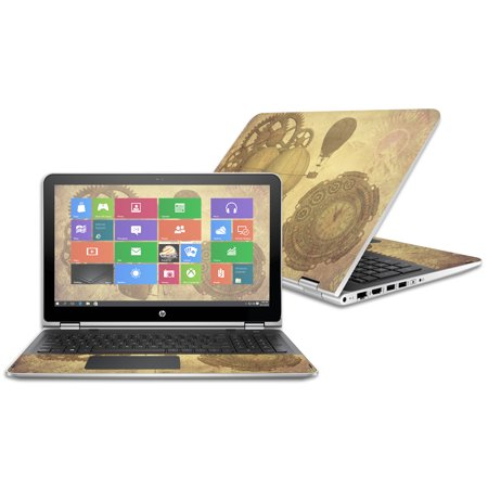 Skin Decal Wrap For Hp Pavilion X360 15 6   2016  Steam Punk Paper