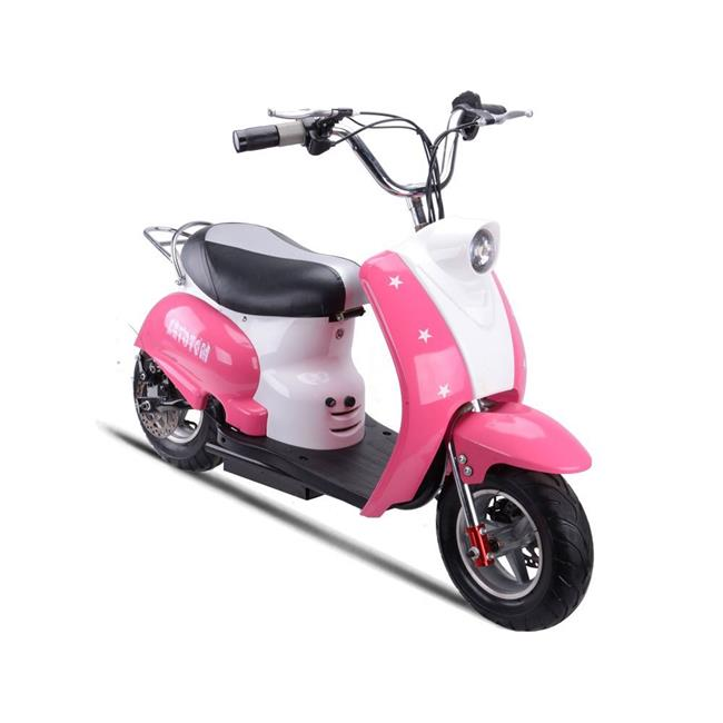 BigToysUSA MT-EM-Purple 24 V Mototec Moped Purple Electri...