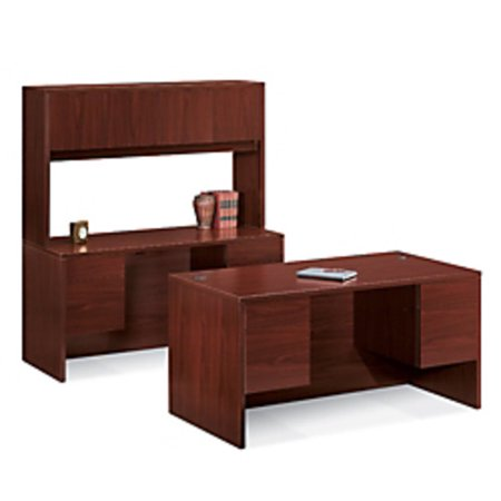 Hon 10500 Series - HON 10500 Series Double-Pedestal Desk, Rectangular Top, 29 1/2