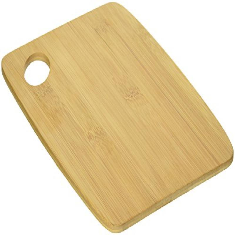 "Bamboo S/2 Thin Cutting Boards 6"" X 8"" W/Oval Hole In Corner"