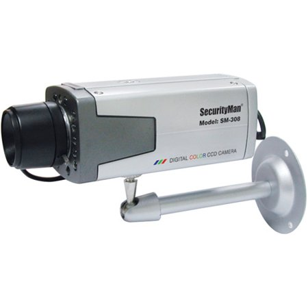 SecurityMan BoxCam-I Auto Iris Color CCD Camera Kit with Night Vision