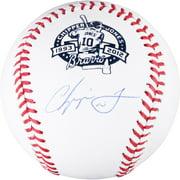 Chipper Jones Atlanta Braves Autographed Retirement Baseball - Fanatics Authentic Certified
