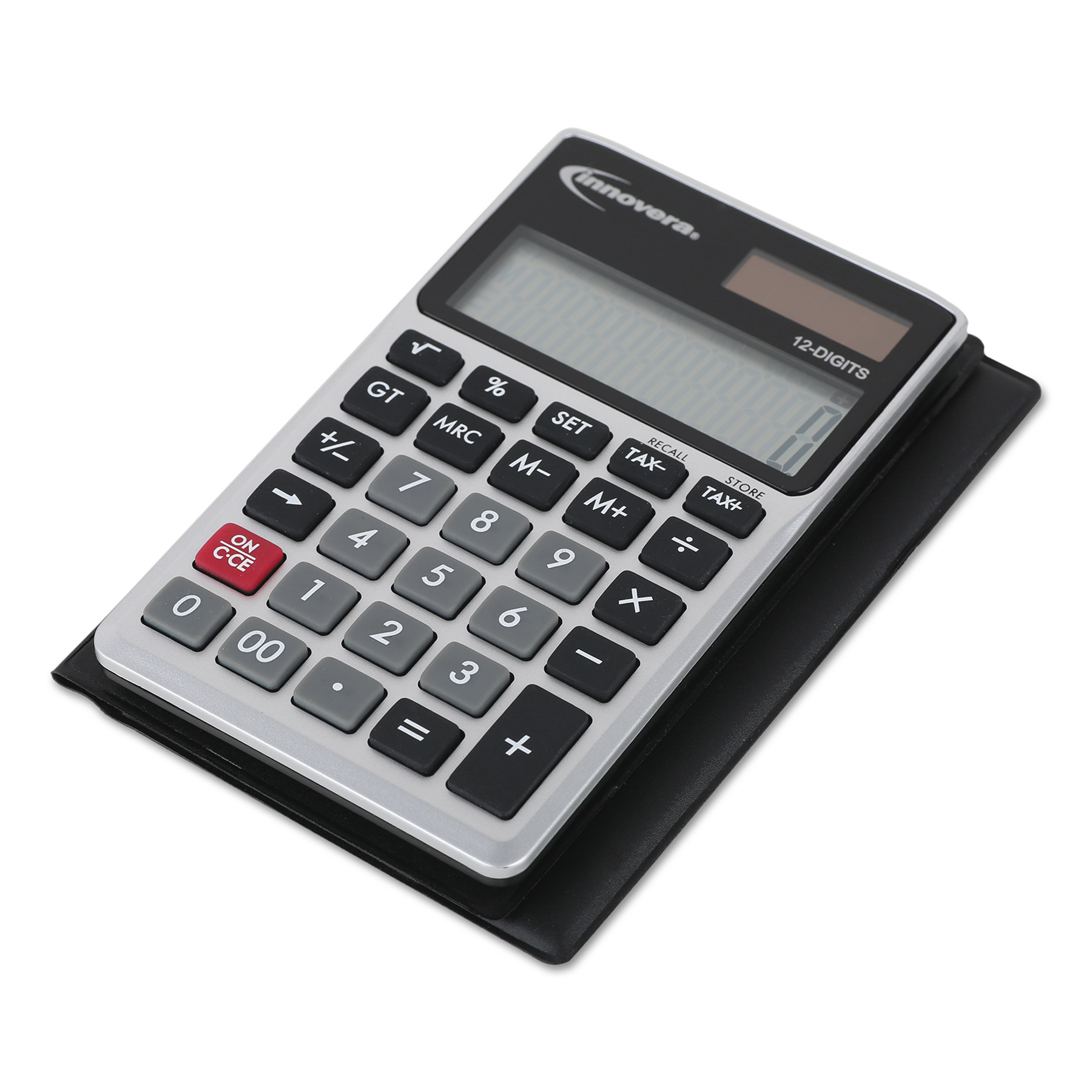 Innovera Handheld Calculator, 12-Digit LCD