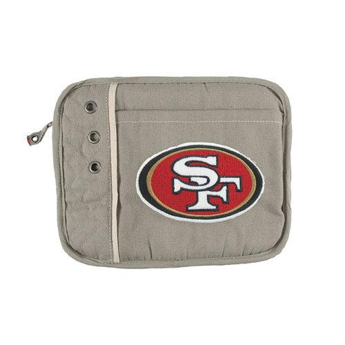 NFL - San Francisco 49ers Charcoal Old School Tablet Sleeve