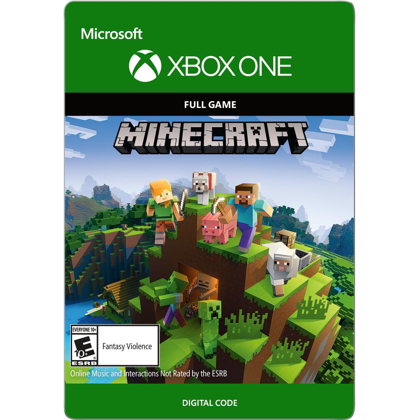 Minecraft Standard Edition, Microsoft, Xbox One, [Digital Download], 799366469742 by inComm