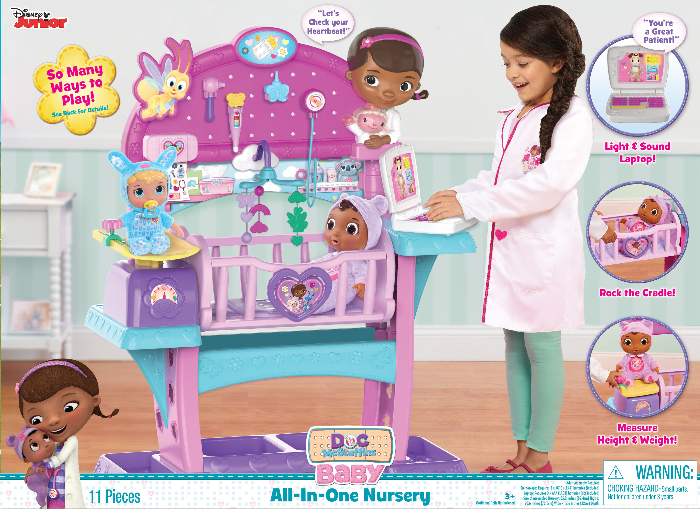 Disney Doc Mcstuffins Premium All In One Nursery Baby