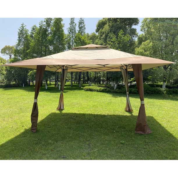 Bajyoji 13 X13 Outdoor Patio Garden, Big Lots Outdoor Canopy Tent