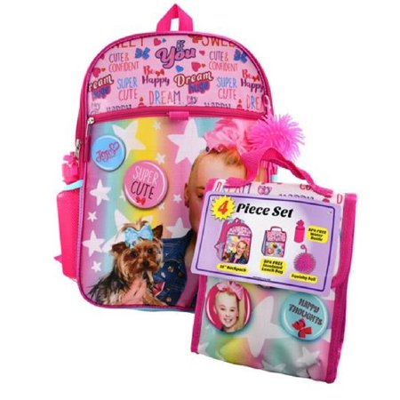 Jojo Siwa 4pc Backpack Set
