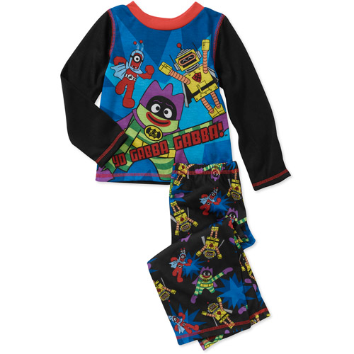 Baby Boys' Yo Gabba Gabba 2-Piece PJ Set with Cape