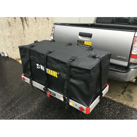 "MaxxHaul 70209 Hitch Mount Waterproof/Rainproof Cargo Carrier Bag (47"" x 20"" x 20"")"