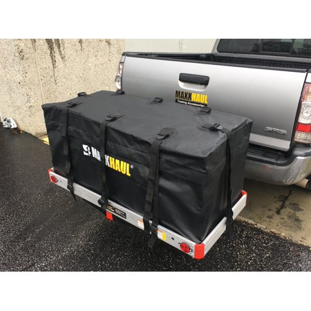 MaxxHaul 70209 Hitch Mount Waterproof/Rainproof Cargo Carrier Bag (47