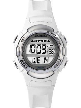 e157f6661d4 Product Image Marathon Women s Digital Mid-Size White Silver-Tone Watch