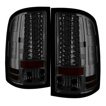 1500 Spyder Tail Light (Spyder GMC Sierra 1500 07-13 2500HD/3500HD 07-14 (does not fit 3500HD Dually Models) LED Tail Lights - Smoke)