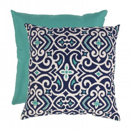 23 In Damask Floor Pillow Blue White Walmart Canada
