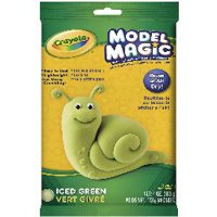 Crayola Model Magic, Iced Green Or Coral, Air Dry, Slime Ingredient, 4 Oz.
