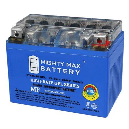 Lobster Elite Freedom Battery - YTX4L-BS 12V 3Ah GEL Battery for HONDA SE50 Elite (All) 50CC 87