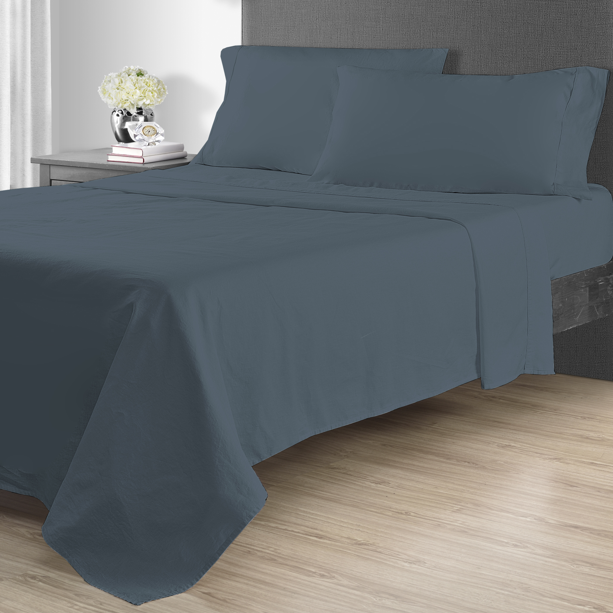 Better Homes & Gardens 4pc Linen Blend Sheet Sets