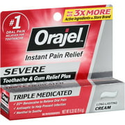 Orajel Instant Pain Relief for Severe Toothache, 0.33 oz