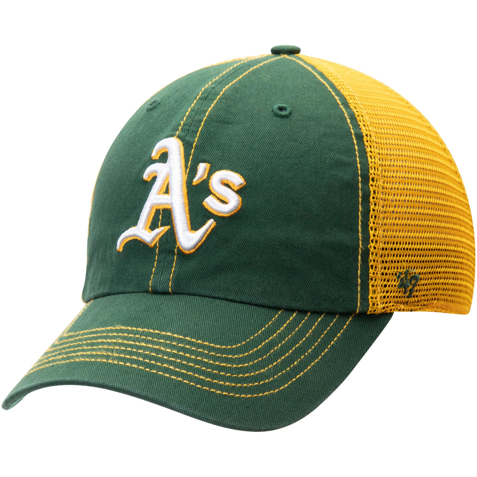 Oakland Athletics '47 Trawler Clean Up Trucker Hat - Green - OSFA