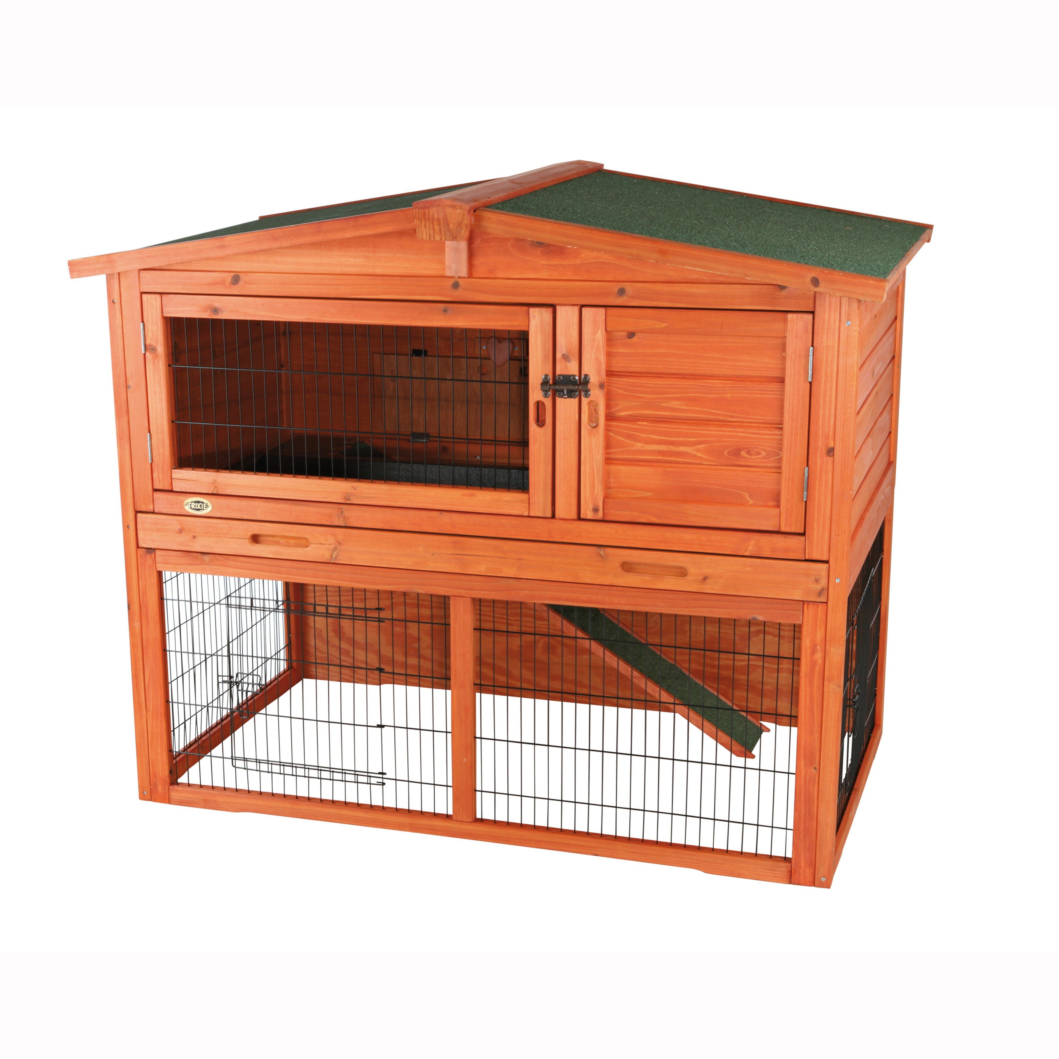 Trixie Rabbit Hutch with Attic, Large