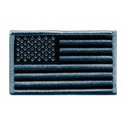 """Heros Pride Rayon/Polyester Embroidered Patch 3-3/8"""" x 2"""" Rayon/Polyester 0042"""