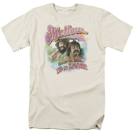 Cheech & Chong/Mellow   S/S Adult 18/1   Cream     (Cheech And Chong Come On Ice Cream)